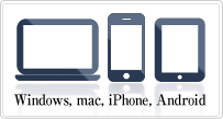 Windows, mac, iPhone, Android